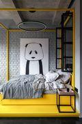 3-5万50平米小户型工业风风格卧室装修效果图