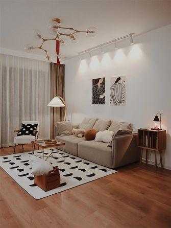 经济型100平米三室两厅日式风格客厅装修效果图
