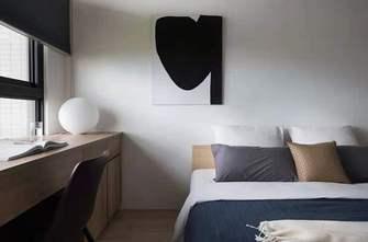 富裕型60平米一室两厅工业风风格卧室欣赏图