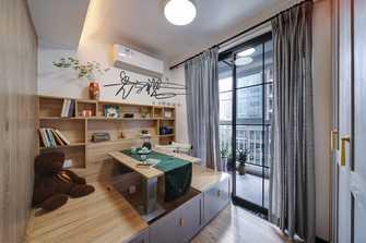 70平米三室三厅北欧风格书房装修图片大全
