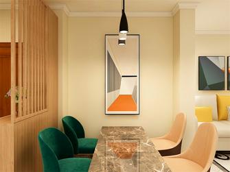 5-10万80平米三室两厅现代简约风格玄关装修案例