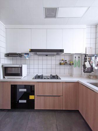 富裕型100平米三室两厅现代简约风格厨房欣赏图