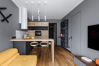 富裕型70平米一室一厅北欧风格客厅欣赏图
