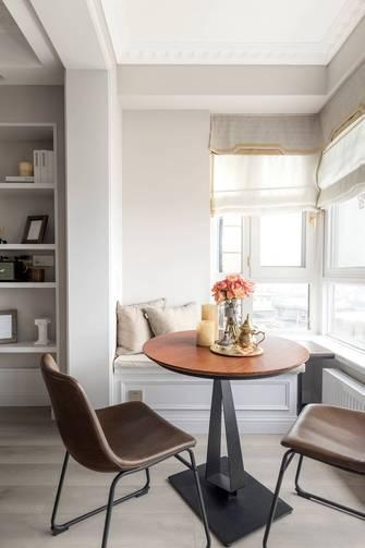 富裕型120平米四室两厅美式风格阳台效果图