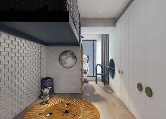 豪华型140平米复式现代简约风格青少年房图片大全