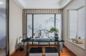 豪华型120平米三室一厅中式风格书房设计图