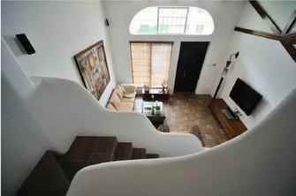 豪华型140平米别墅田园风格楼梯间图片大全