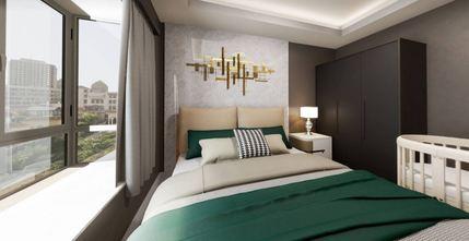 50平米公寓轻奢风格卧室欣赏图