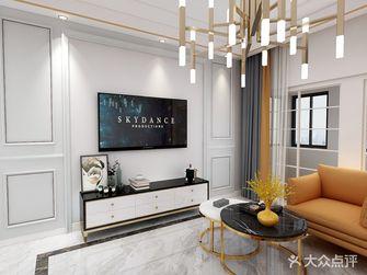 5-10万90平米三室一厅混搭风格客厅欣赏图