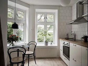 50平米一室一厅北欧风格厨房装修效果图