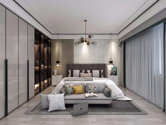 3万以下140平米三室两厅中式风格卧室欣赏图