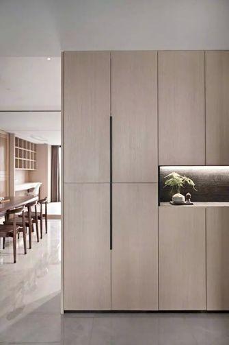 豪华型130平米三室一厅中式风格玄关图片大全