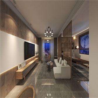 富裕型120平米三室两厅北欧风格客厅图片