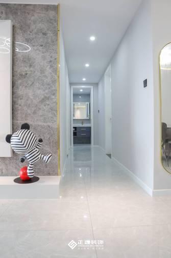 5-10万110平米三室两厅轻奢风格走廊装修图片大全