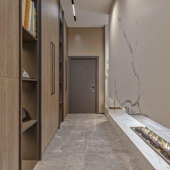 140平米三室一厅中式风格走廊设计图