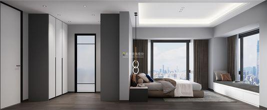 富裕型80平米三室一厅现代简约风格卧室图片