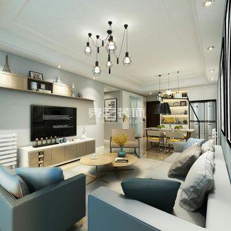 80平米三室两厅欧式风格客厅装修图片大全