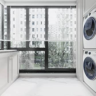 140平米三室两厅法式风格阳台装修效果图