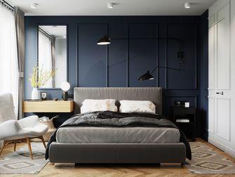 10-15万100平米三室两厅轻奢风格卧室设计图