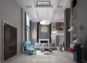 豪华型140平米别墅美式风格影音室图片