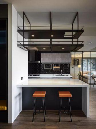 20万以上130平米三室两厅工业风风格餐厅欣赏图