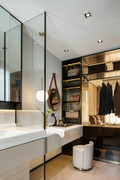 15-20万140平米四室两厅现代简约风格衣帽间装修效果图