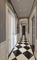 140平米四欧式风格走廊装修效果图