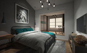 20万以上140平米别墅工业风风格卧室效果图