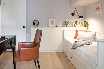 富裕型70平米三室一厅现代简约风格书房效果图