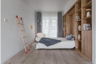 富裕型120平米三室两厅北欧风格书房装修案例