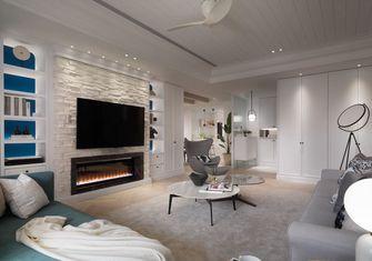 豪华型140平米三室一厅美式风格客厅设计图