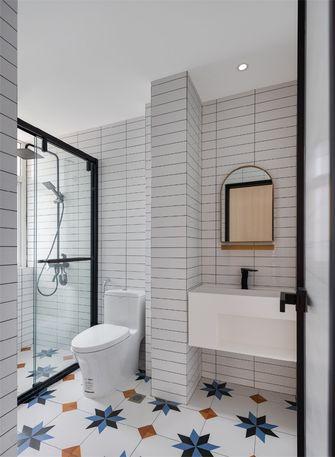 经济型50平米一室一厅北欧风格卫生间装修案例