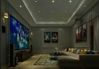 豪华型140平米美式风格影音室欣赏图