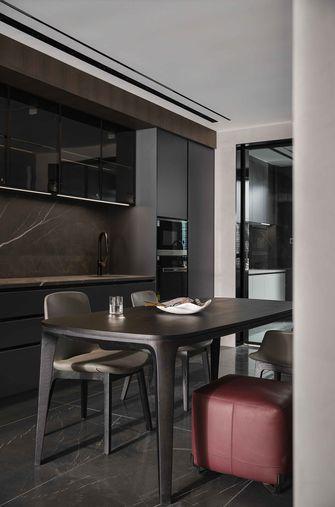 富裕型120平米三室两厅工业风风格餐厅效果图