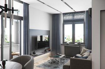5-10万70平米一居室现代简约风格客厅装修案例