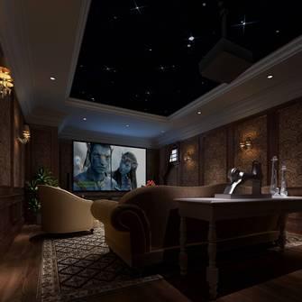 豪华型140平米公装风格影音室欣赏图