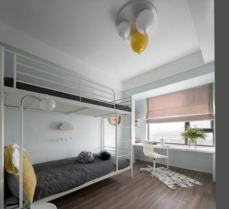 140平米三室两厅北欧风格青少年房图