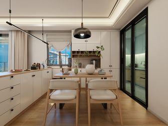 130平米四室一厅北欧风格餐厅图片