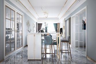 富裕型30平米以下超小户型轻奢风格餐厅欣赏图