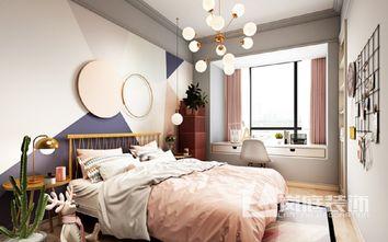 20万以上140平米四室三厅美式风格卧室设计图
