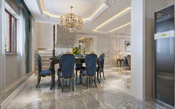 140平米四室三厅欧式风格餐厅图