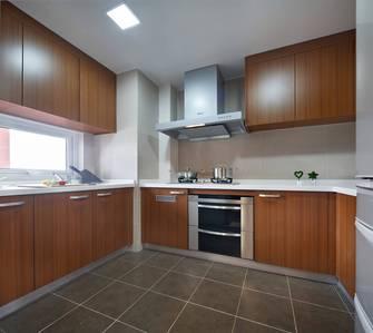 富裕型100平米三室一厅中式风格厨房图片