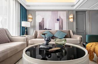 富裕型130平米三室两厅美式风格客厅装修效果图
