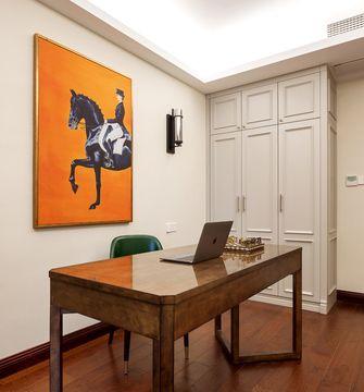 豪华型130平米三室两厅轻奢风格书房装修案例