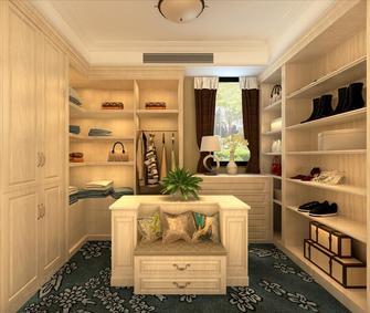 20万以上110平米三室一厅现代简约风格衣帽间设计图