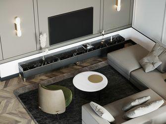 豪华型120平米三室一厅轻奢风格客厅装修案例