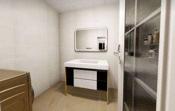 50平米一居室轻奢风格卫生间图
