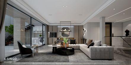 豪华型140平米别墅现代简约风格健身房图片大全