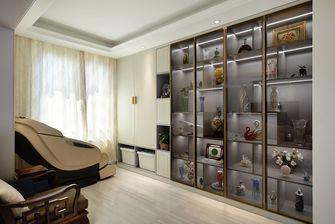 豪华型三室两厅中式风格书房装修案例