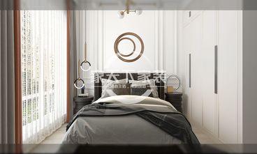 80平米一室一厅美式风格卧室欣赏图